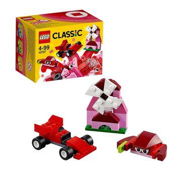 LEGO | Lego Classic Red Creativity (55 Pcs) 10707