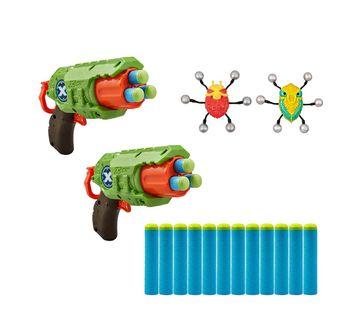 X-Shot | Zuru X-Shot - Bug Attack-Predator Combo Pack Blasters for Kids age 8Y+