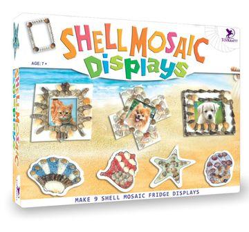 Toy Kraft    Toy Kraft Shell Mosaic Displays DIY Art & Craft Kits for Kids age 7Y+