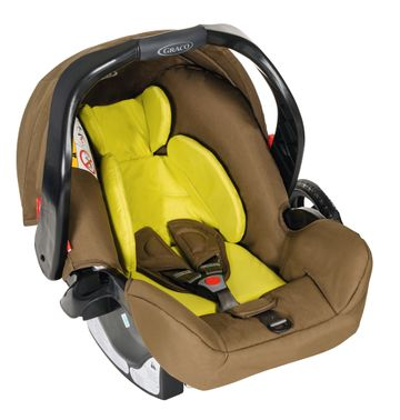 Mothercare | Graco Junior Baby Zigzag Car Seat  Lime