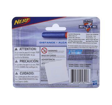 Nerf | Nerf N-Strike Elite 12 Dart Refill Target Games and Darts for Kids age 8Y+ (Blue)
