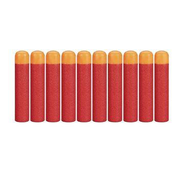 Nerf | Nerf Darts 10-Pack Refill For Nerf Mega Blasters -  8Y+ (Red)