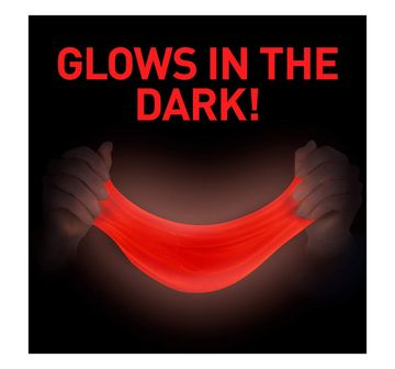 National Geographic   National Geographic DIY Science Lab Make Glowing Slime for Kids age 6Y+ (Red)