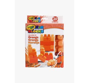 Crayola | NE Crayola Work My Color Orange 20pc Set