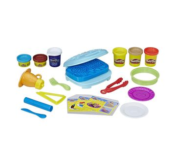 Play-Doh | Play-Doh Kitchen Creations Breakfast Bakery Clay & Dough for Kids age 3Y+