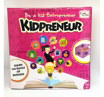 Trunkworks | Trunk Works Kidpreneur - Jewellery Box Version - Learn Basics Of Business And Entrepreneurship In Age Appropriate Fun Way (Includes Material Needed To Start Your First Business)