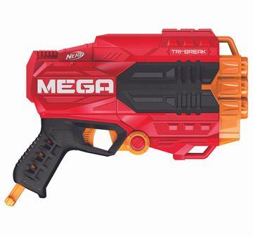 Nerf | Nerf N-Strike Mega Tri-Break Blasters for Kids age 8Y+