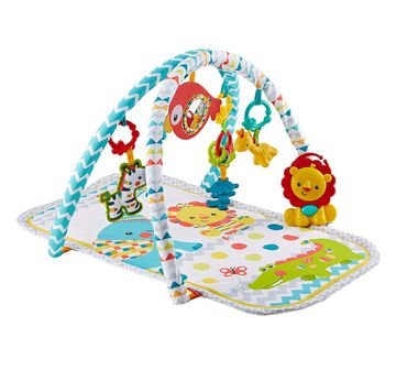 Fisher-Price | Fisher Price Colourful Carnival 3-In-1 Musical Activity Gym (Multi Color)