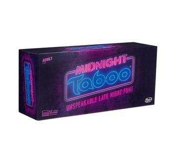 Hasbro Gaming    Gaming Midnight Taboo Game Board Games for Kids age 18Y+