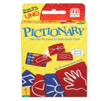 Mattel | NE Pictionary Card Game