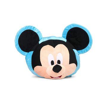 Disney | Disney Mickey Face Plush Toy / Pillow, Multicolor, 54 Cm