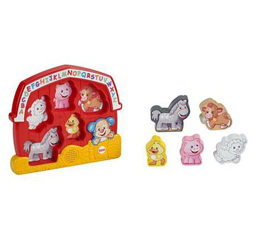 Fisher-Price | Fisher Price Laugh And Learn Puzzle Assorted
