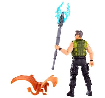Jurassic World | Jurassic World Action Products Mercenary Tranquilizer Action Figures for Kids age 4Y+
