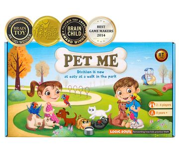 Logic Roots | Logic Roots Pet Me Division  Game  Games for Kids age 6Y+ (Green)