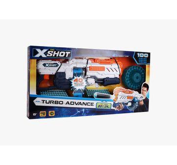 X-Shot | X-Shot Excel Turbo Advance 40-Capacity Barrel Dart Blasters for Kids age 8Y+