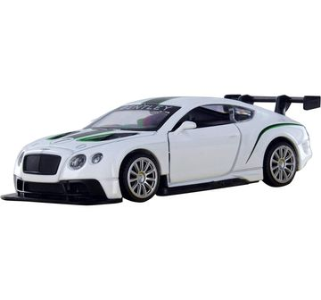 Msz | MSZ 1:32 Bentley Continental GT3 Car with Light and Sound for Kids age 3Y+ (White)