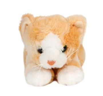 Cuddles | NE CUDDLES CAT LYING CREAM 28CM