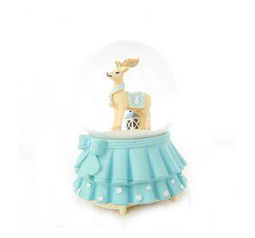 Karma | Karma Reindeer Snowglobe 100Mm Impulse Toys for Kids age 7Y+ (Blue)