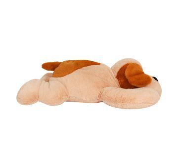 Qingdao | Cuddles Laying Dog Cream And Brown
