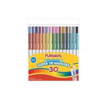 Playskool | Playskool 30 Count Slim Markers,Unisex, 3Y+ (Multicolor)