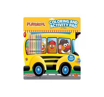 Playskool | Playskool Diecut Coloring And Activity Pad Assortment,Unisex, 3Y+ (Multicolor)