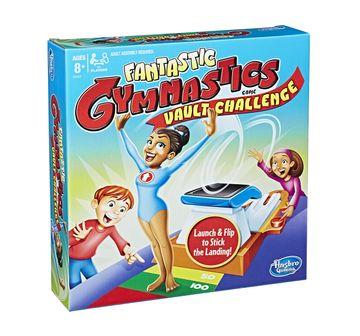 Hasbro Gaming | Hasbro Fantastic Gymnastics Vault Challenge Game Games for Kids age 8Y+