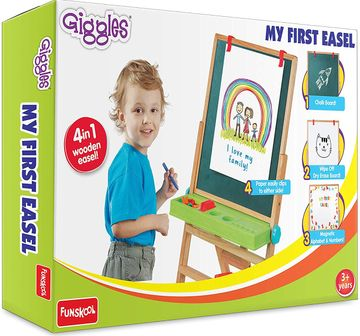 Giggles | Giggles My First New Easel - Brown