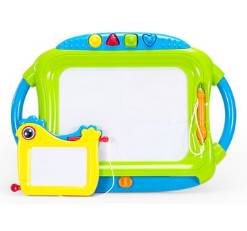 Comdaq | NE FC BIG DOODLEBOARD 2IN1 W STAMP GREEN