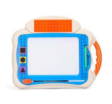 Comdaq | Comdaq Big Doodle Board Blocks - Light Blue Activity Table  for Kids age 3Y+