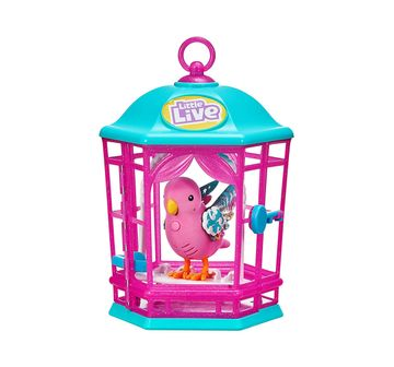 Little Live Pets | E LLP S8 BIRD WITH CAGE