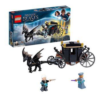 LEGO | Lego Harry Potter Fantastic Beasts Grindelwald'S Escape (132 Pcs) 75951  Blocks for Kids age 7Y+