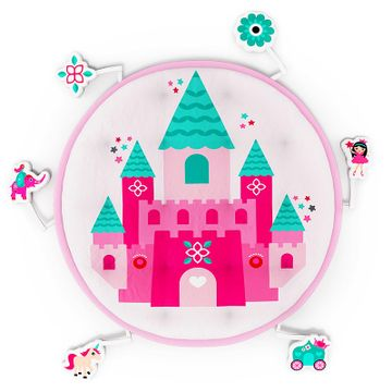 Mothercare | Fancy Fluff Baby Play Mat - Princess