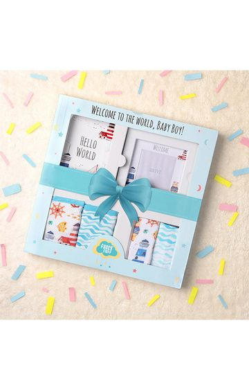 Mothercare | Fancy fluff Nautical Gift Box