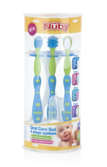 Mothercare | Nuby Oral Care Set