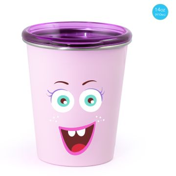 Mothercare | Rabitat Spill Free Stainless Steel Cup - Miss Butters