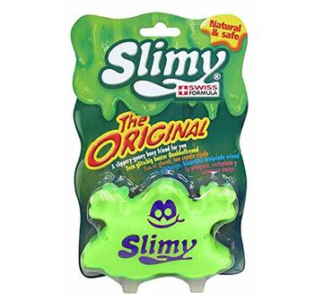 Slimy   Slimy Swiss The Original - Blister Card 80Gm Sand, Slime & Others for Kids age 3Y+