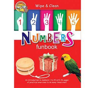 Om Kidz | NE WIPE & CLEAN NUMBERS FUNBOOK