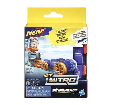 Nerf | Nerf Nitro Smashshot (Blue) Blasters for Kids age 5Y+ (Blue)