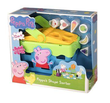 Peppa Pig   Peppa Pig Shape Sorter Toy