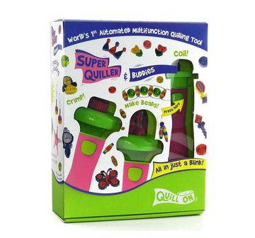Imagimake | Imagimake Super Quiller Buddies Pink DIY Art & Craft Kits for Kids age 6Y+