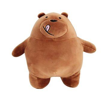 We Bare Bears | We Bare Bear Grizzly Bear Plush 30 Cm
