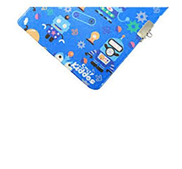 Smily Kiddos | Smily Kiddos Lockable Notebook - Study & Desk Accessories for Kids age 3Y+ (Blue)