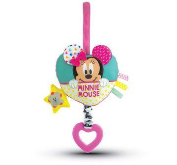 Disney | Disney Minnie Soft Carillon Rattle for New Born Girls age 0M+ (Pink)