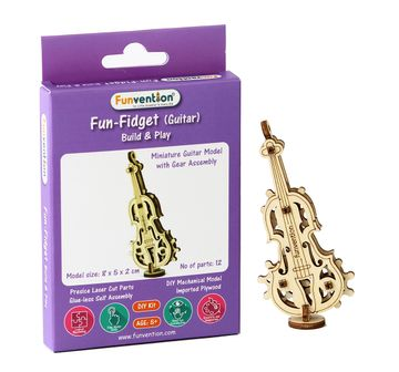 Funvention | Funvention Fun Fidgets - Assorted - Guitar Model Stem for Kids Age 5Y+