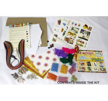 Toy Kraft   Toy Kraft Fab Card Displays DIY Art & Craft Kits for Kids age 7Y+