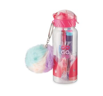 Gogopo | Gogopo Pink Sports Bottle Bundle School Stationery for Kids age 3Y+ (Pink)