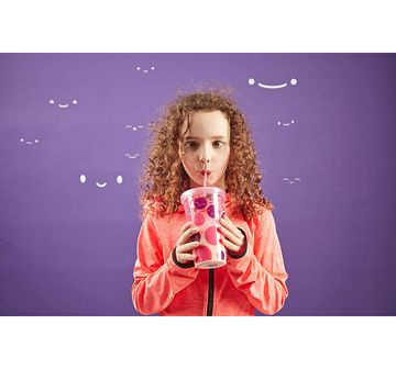 Gogopo | Gogopo Pink Milk Shake Bundle School Stationery for Kids age 3Y+ (Pink)