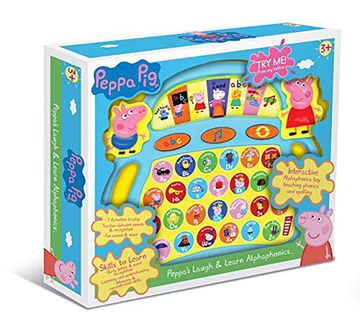 Peppa Pig   Peppa Pig  Laugh And Learn  Alphaphonics Learning Toys for Kids age 3Y+