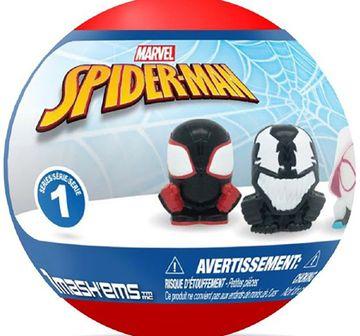Mega Mash'Ems | Mega Mash'Ems Squishy Spiderman S1 Toy Figures for Kids age 4Y+