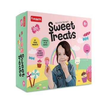 Funskool |  Funskool - Handycrafts Sweet Treats DIY Art & Craft Kits for Girls age 8Y+
